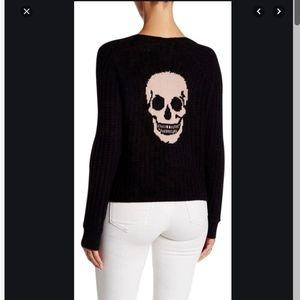 360 skull cashmere sweater size xs